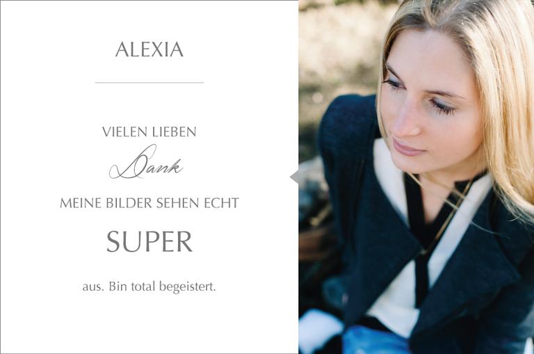 Danke an Monika Schweighardt Photography für die schönen Bilder von Alexia