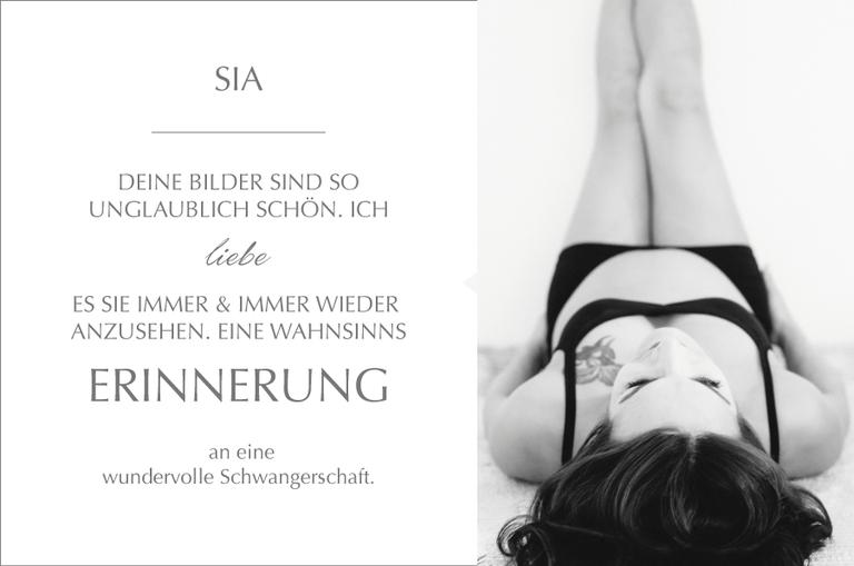 Kundenmeinung und süße Worte zu der Arbeit Monika Schweighardt Photography